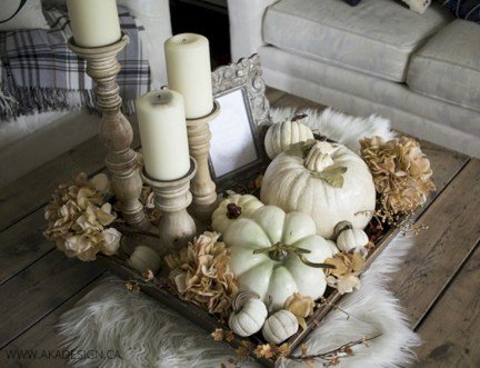 Minimalist christmas coffee table centerpiece ideas 39