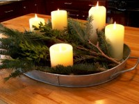 Minimalist christmas coffee table centerpiece ideas 40