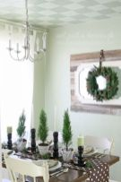 Modern christmas table centerpieces ideas you will totally love 14