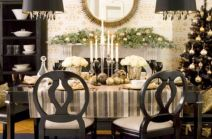 Modern christmas table centerpieces ideas you will totally love 22
