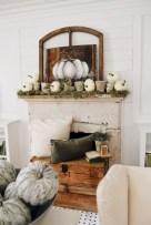 Modern farmhouse fireplace christmas decoration ideas 33