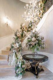 Romantic christmas tree wedding centerpieces ideas 06