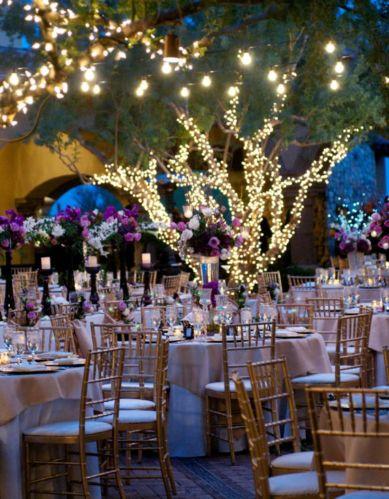 Romantic christmas tree wedding centerpieces ideas 32
