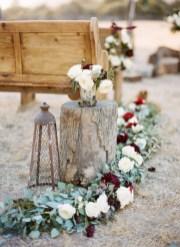 Romantic winter vintage wedding decoration ideas (27)