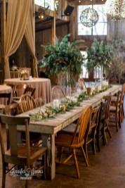 Romantic winter vintage wedding decoration ideas (3)