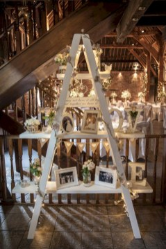 Romantic winter vintage wedding decoration ideas (5)
