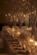 Spectacular winter wonderland wedding decoration ideas (32)