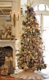 Stunning gold christmas tree decoration ideas 02