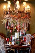 Stylish christmas centerpieces ideas with ornaments 17
