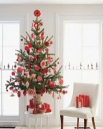 Totally inspiring small christmas tree decoration ideas for space saving 01