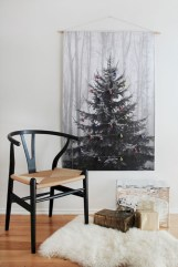 Totally inspiring small christmas tree decoration ideas for space saving 32