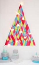 Unique christmas tree decoration ideas for your alternatives 14