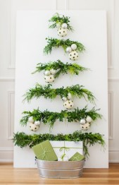 Unique christmas tree decoration ideas for your alternatives 23