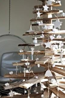 Unique christmas tree decoration ideas for your alternatives 33