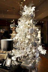 Unusual black christmas tree decoration ideas 03