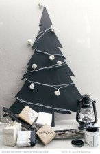 Unusual black christmas tree decoration ideas 21