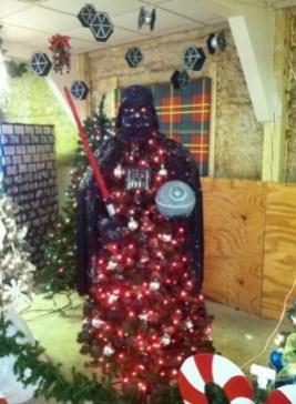 Unusual black christmas tree decoration ideas 41