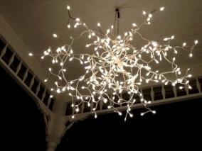 Adorable christmas chandelier decoration ideas 16