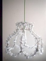 Adorable christmas chandelier decoration ideas 28