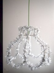 Adorable christmas chandelier decoration ideas 28