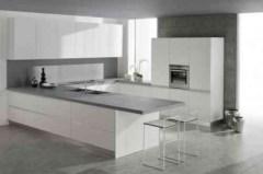 Adorable grey and white kitchens design ideas 01