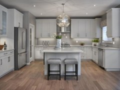 Adorable grey and white kitchens design ideas 02