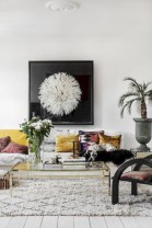 Awesome large wall art inspiration ideas for your living rooms 25
