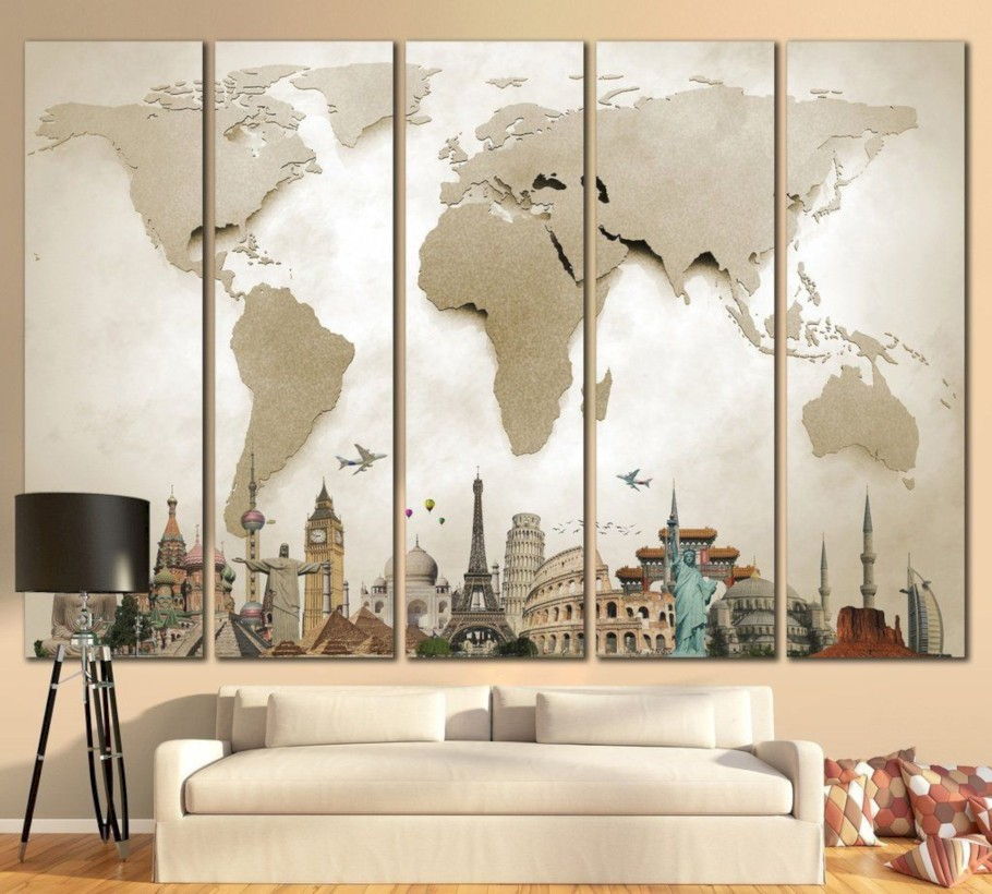 Awesome large wall art inspiration ideas for your living rooms 28
