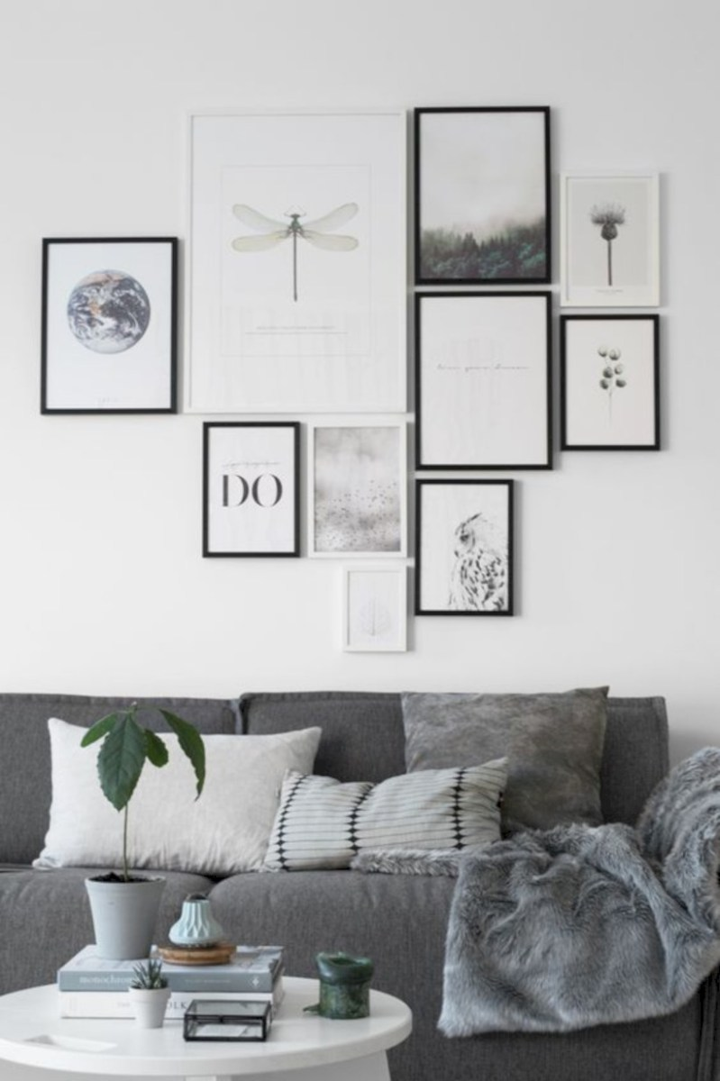 Awesome large wall art inspiration ideas for your living rooms 34