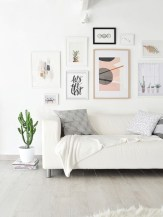 Awesome large wall art inspiration ideas for your living rooms 36