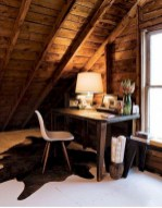 Awesome rustic home office designs ideas 12