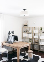 Awesome rustic home office designs ideas 13