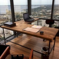 Awesome rustic home office designs ideas 41