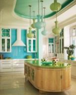 Bright and colorful kitchen design ideas 29