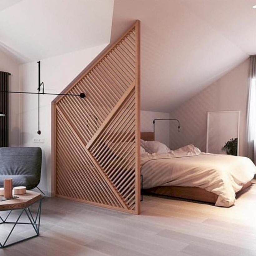 Brilliant room dividers partitions ideas you should try 29