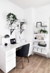 Charming vintage home office decoration ideas 13