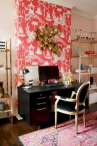 Charming vintage home office decoration ideas 21