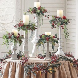 Charming winter centerpieces decoration ideas 02