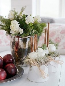 Charming winter centerpieces decoration ideas 11