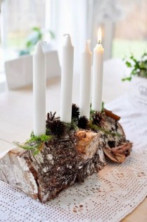 Charming winter centerpieces decoration ideas 16