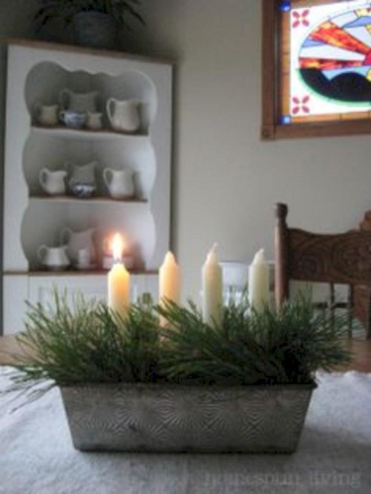 Charming winter centerpieces decoration ideas 33