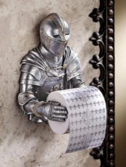 Cool and unique toilet tissue paper roll holders ideas 04