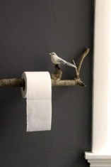 Cool and unique toilet tissue paper roll holders ideas 07