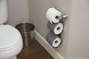 Cool and unique toilet tissue paper roll holders ideas 19