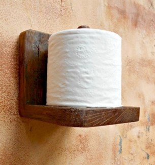 Cool and unique toilet tissue paper roll holders ideas 35