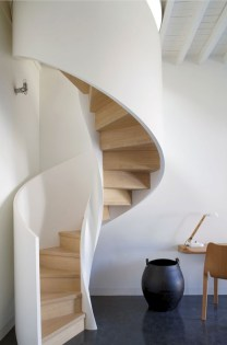 Cool space saving staircase designs ideas 24
