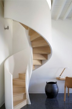 Cool space saving staircase designs ideas 24