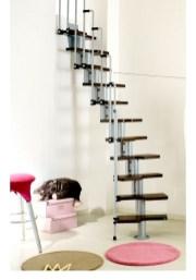 Cool space saving staircase designs ideas 25