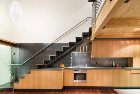 Cool space saving staircase designs ideas 38