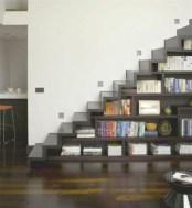 Cool space saving staircase designs ideas 40